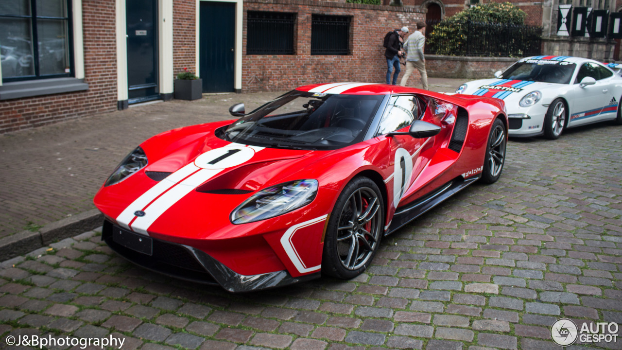 ford gt  heritage edition    autogespot
