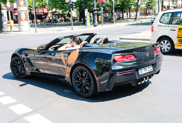 Callaway Corvette Z06 Convertible SC757