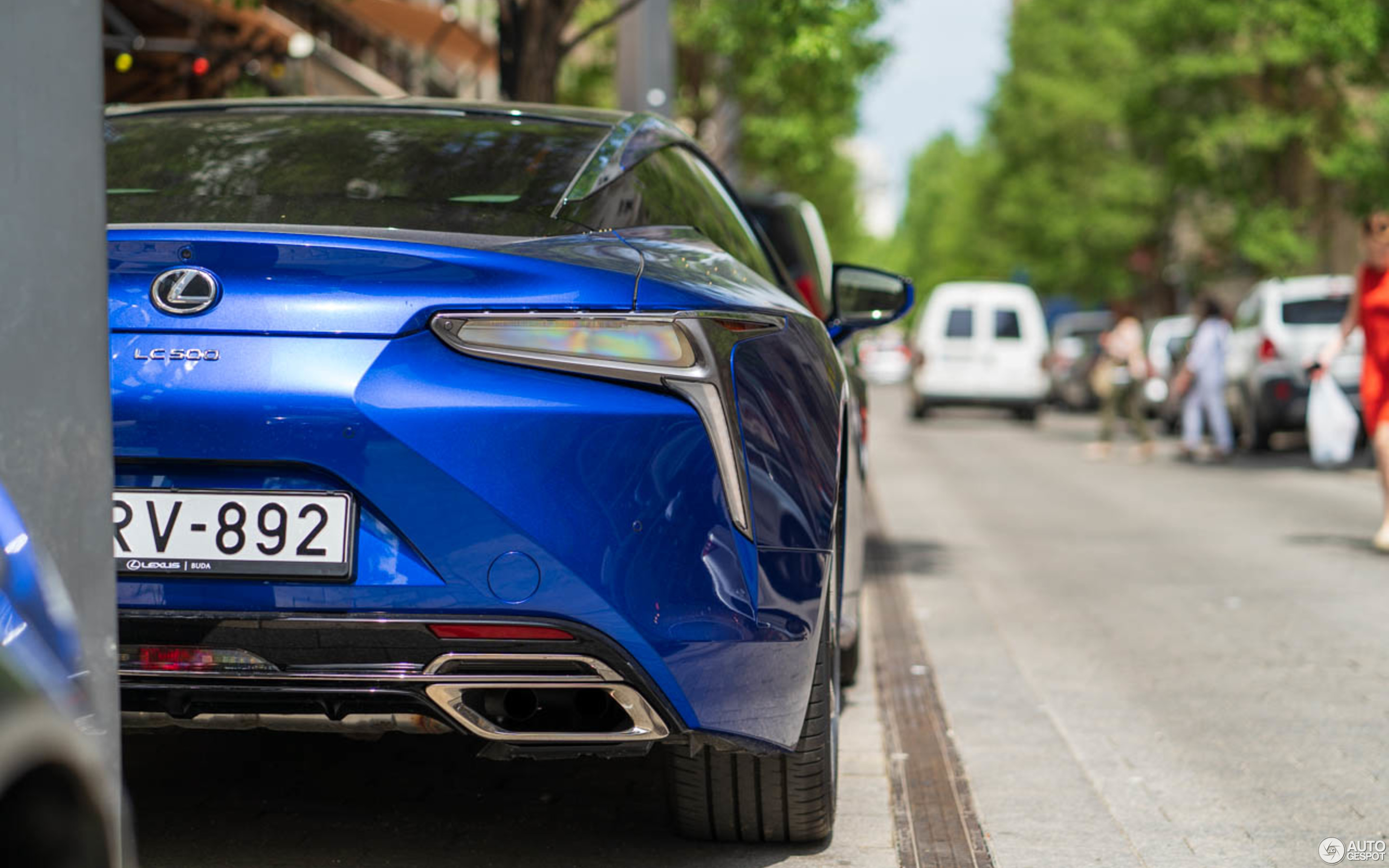 Lexus Lc 500 Structural Blue Edition 27 May 2018 Autogespot