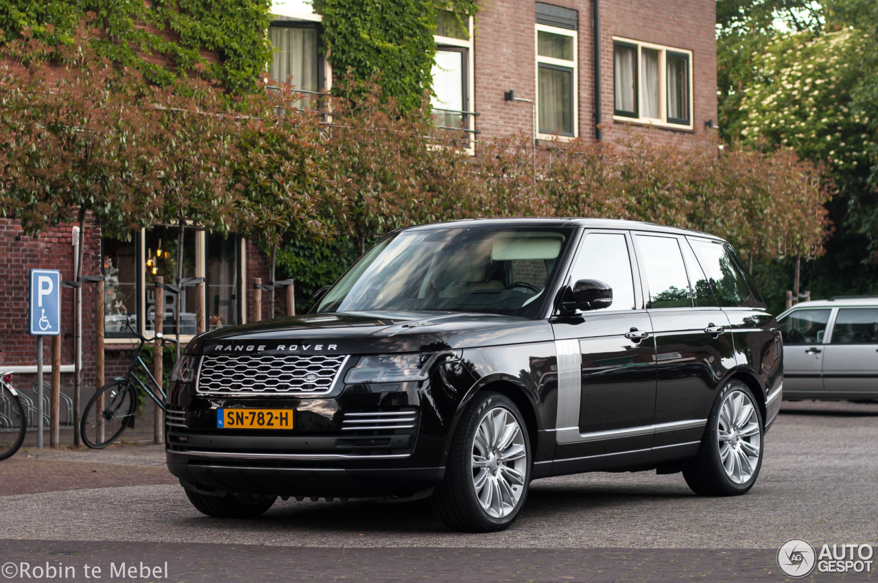 land rover range rover autobiography 2018 29 may 2018 autogespot. Black Bedroom Furniture Sets. Home Design Ideas