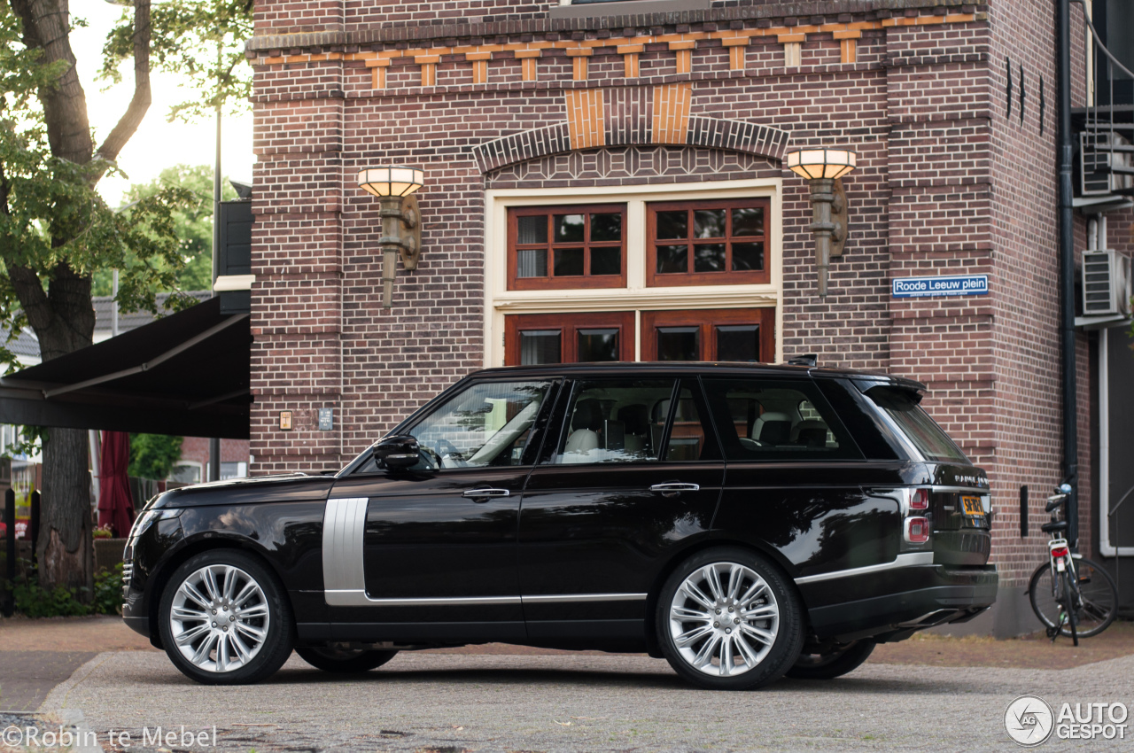 Range Rover Svr For Sale >> Land Rover Range Rover Autobiography 2018 - 29 May 2018 - Autogespot