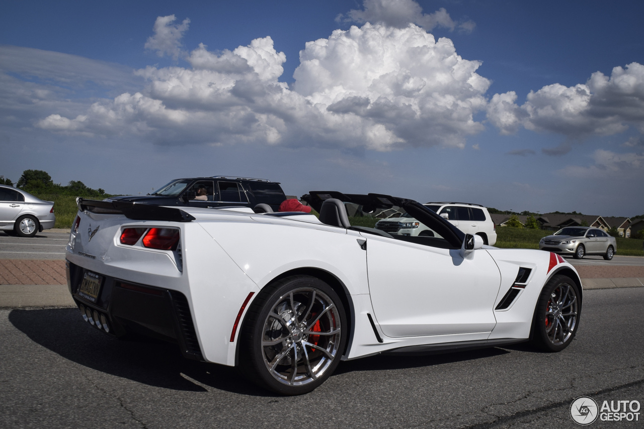 Chevrolet Corvette C7 Grand Sport Convertible 30 May
