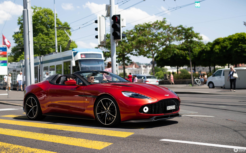 Aston Martin Vanquish Zagato Speedster 30 May 2018 Autogespot