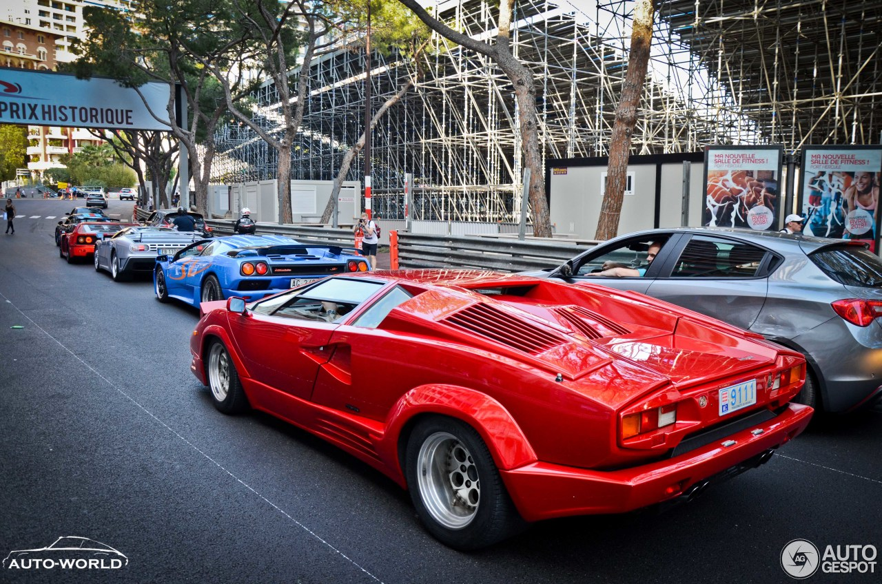 Lamborghini Countach 25th Anniversary 31 May 2018 Autogespot