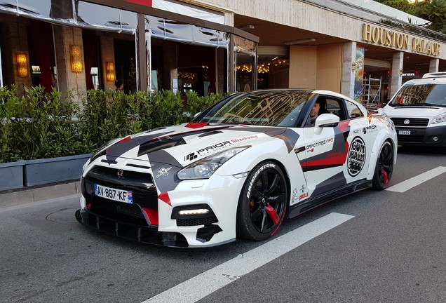 Nissan GT-R AMS Performance Alpha 10