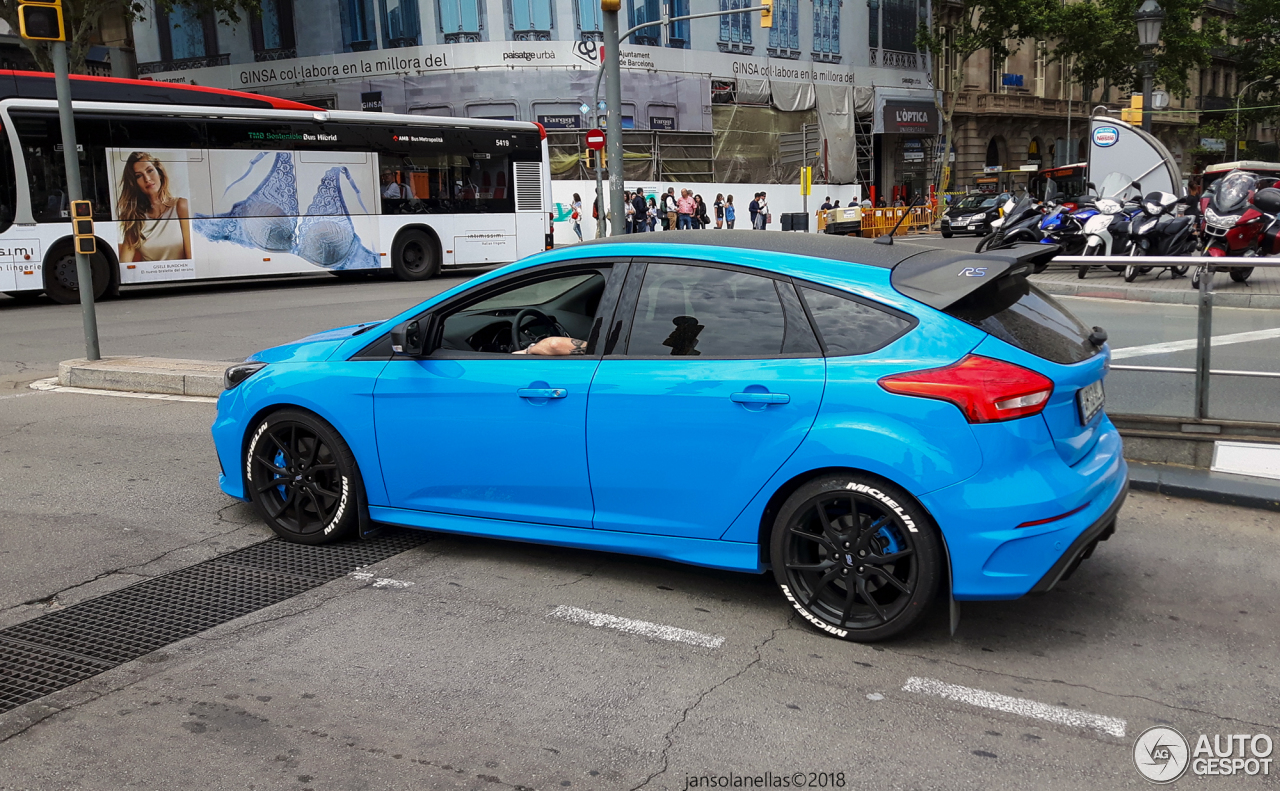 ford focus rs performance limited edition 2018 4 june 2018 autogespot. Black Bedroom Furniture Sets. Home Design Ideas