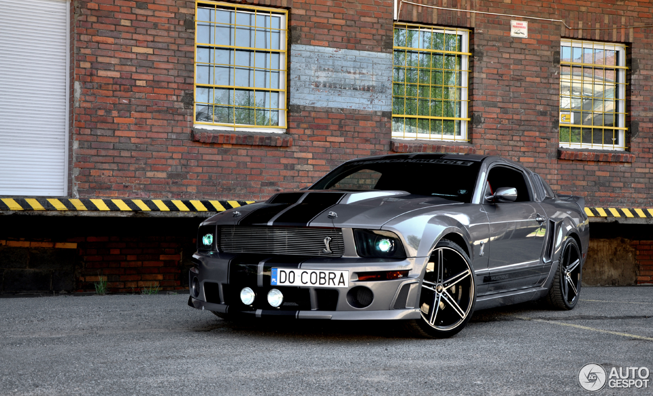 ford mustang shelby gt  supersnake  june  autogespot