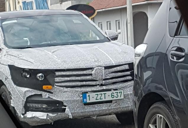 Volkswagen T-Cross 2018 Mule