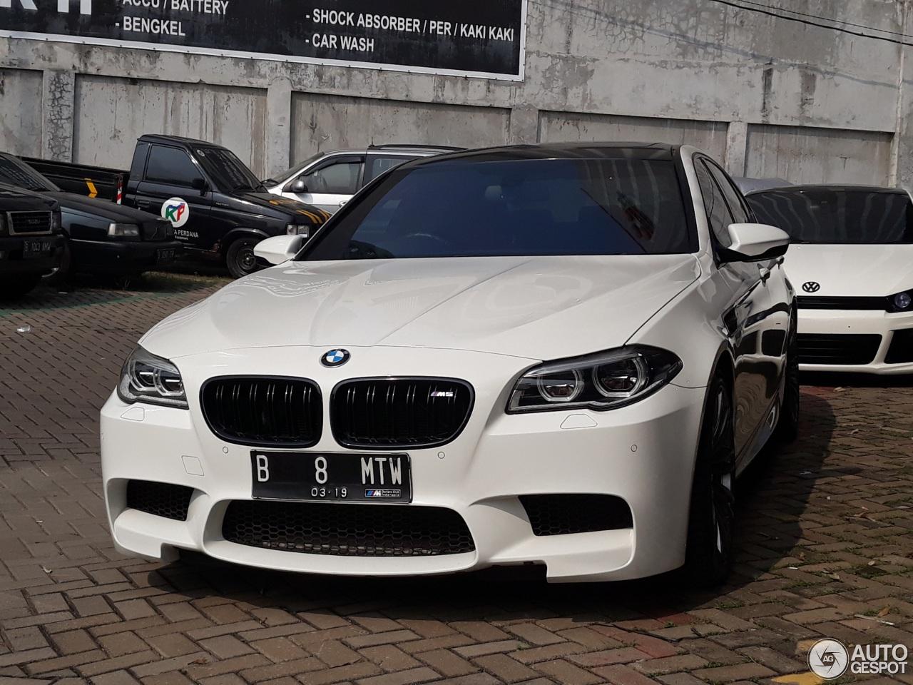 Bmw M5 F10 2014 10 June 2018 Autogespot
