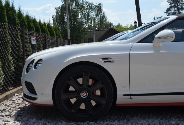 Bentley Continental GTC V8 S 2016 Black Edition