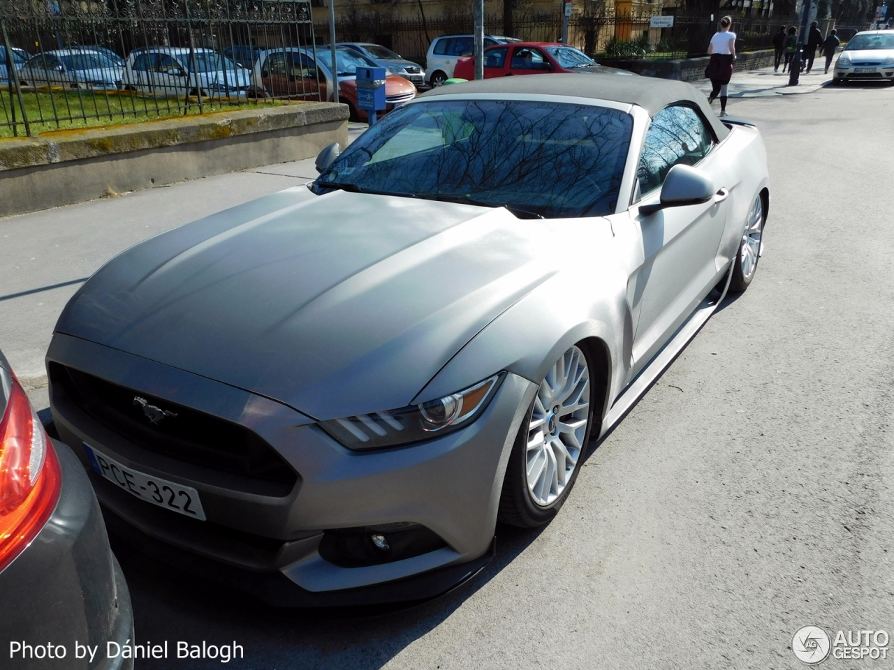 ford mustang gt convertible 2015 o ct tuning 13 june. Black Bedroom Furniture Sets. Home Design Ideas