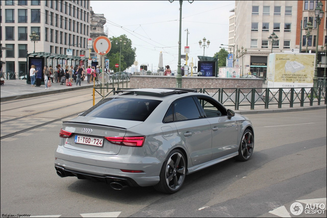 Audi RS3 Sedan 8V - 14 June 2018 - Autogespot