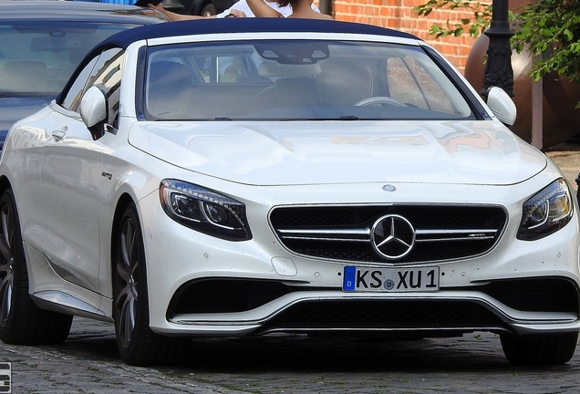 Mercedes-AMG S 63 Convertible A217
