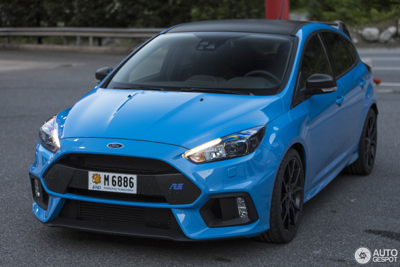 ford focus rs performance limited edition 2018 18 juni 2018 autogespot. Black Bedroom Furniture Sets. Home Design Ideas