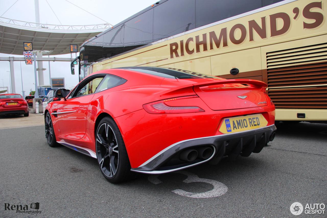 Aston Martin Vanquish S Red Arrows Edition 20 Juni 2018 Autogespot