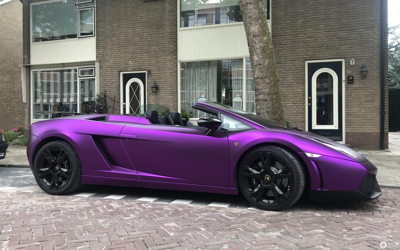 Lamborghini Gallardo Spyder 20 June 2018 Autogespot
