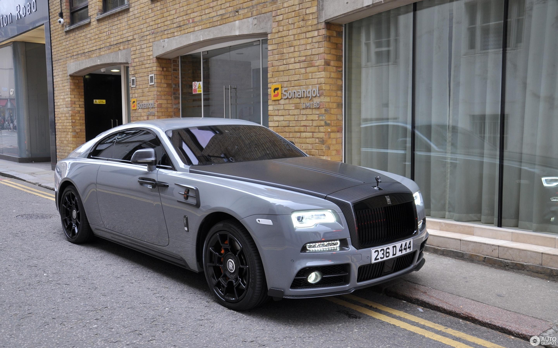 Rolls Royce Mansory Wraith Black Badge 20 June 2018 Autogespot