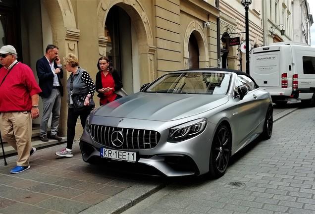 Mercedes-Benz 2017 S63 Convertible