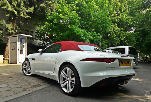 Jaguar F-TYPE S Convertible