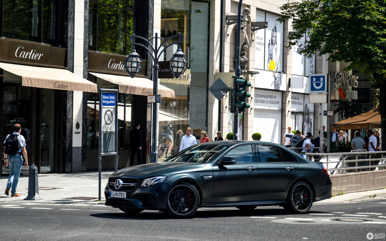 Mercedes-AMG E 63 S W213 - 24 June 2018 - Autogespot