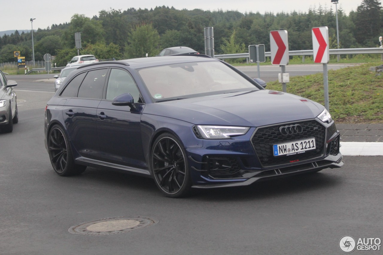 Audi Abt Rs4 R Avant B9 25 June 2018 Autogespot