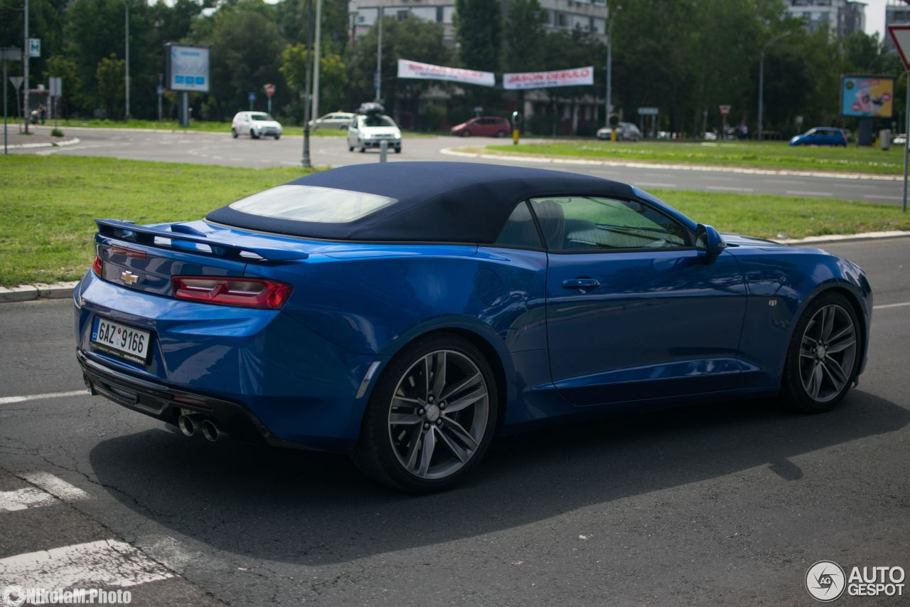 Chevrolet Camaro Ss Convertible 2016 2 July 2018