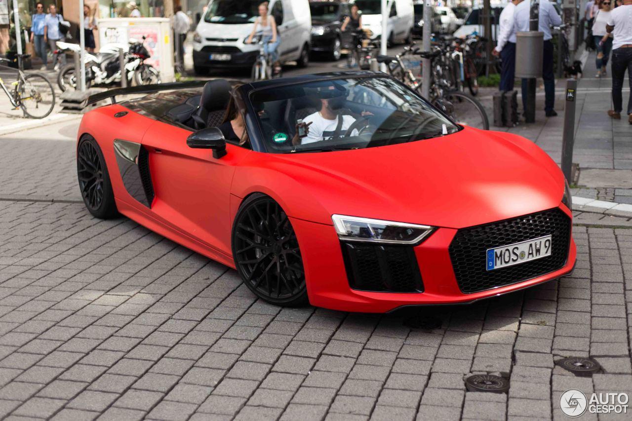 Audi R V Spyder No Limit Custom July Autogespot - Audi custom