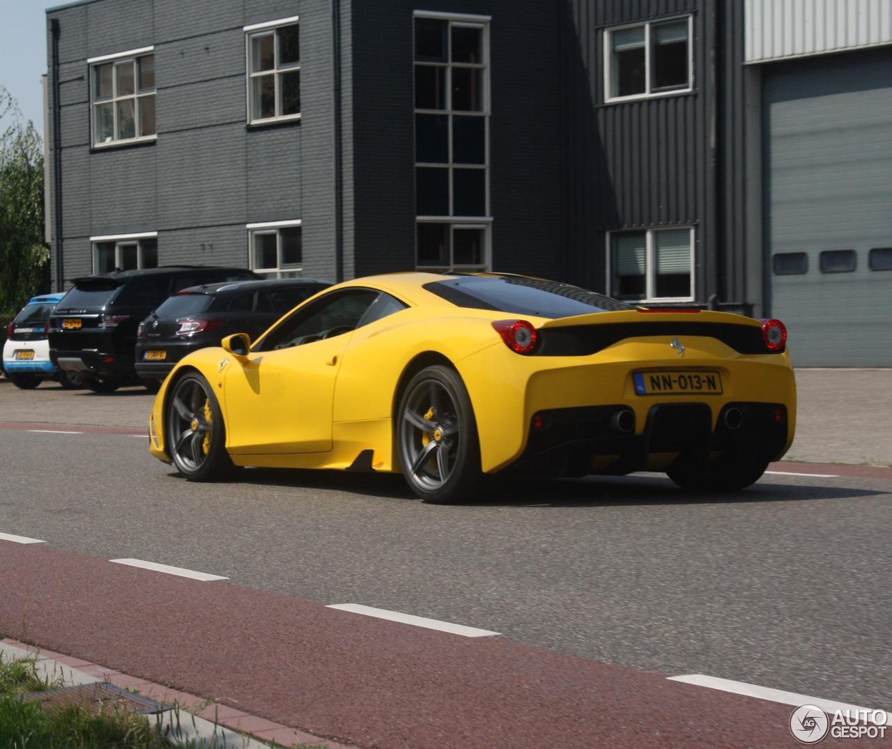 Ferrari 458 Speciale: Ferrari 458 Speciale