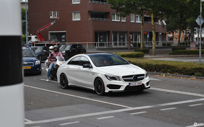 Mercedes Benz Cla 45 Amg C117 7 July 2018 Autogespot