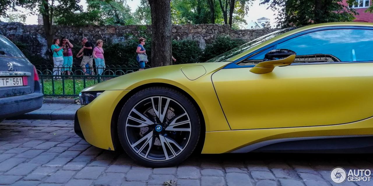 Bmw I8 Protonic Frozen Yellow Edition 8 July 2018 Autogespot