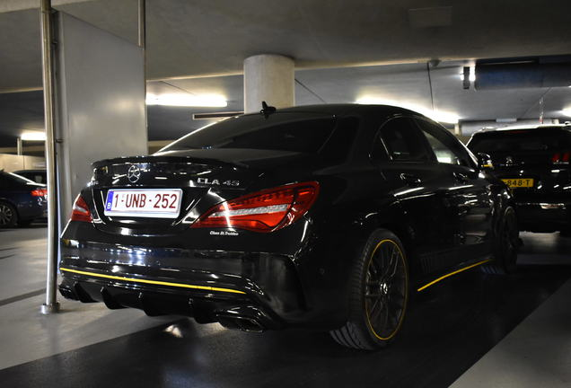 Mercedes-AMG CLA 45 C117 Yellow Night Edition