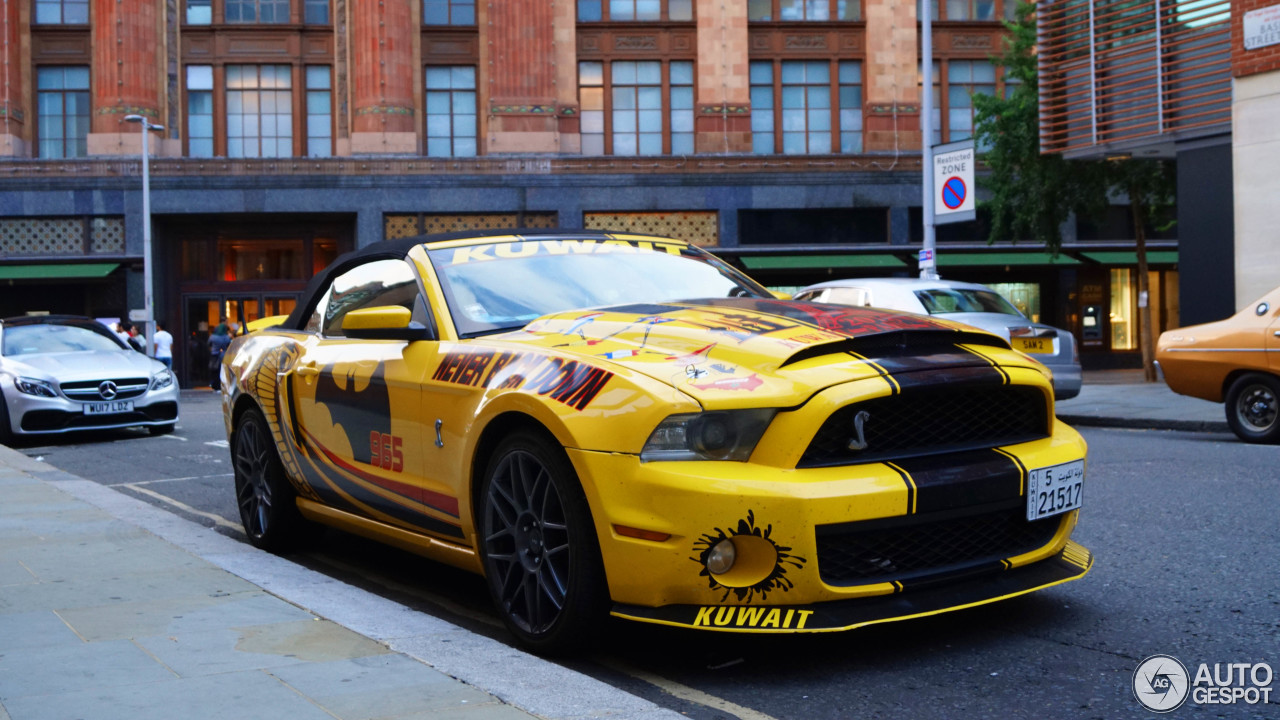 ford mustang shelby gt500 super snake convertible 15 july 2018 autogespot. Black Bedroom Furniture Sets. Home Design Ideas