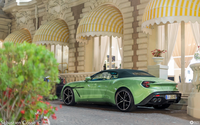 Aston Martin Vanquish Volante Zagato 15 July 2018 Autogespot