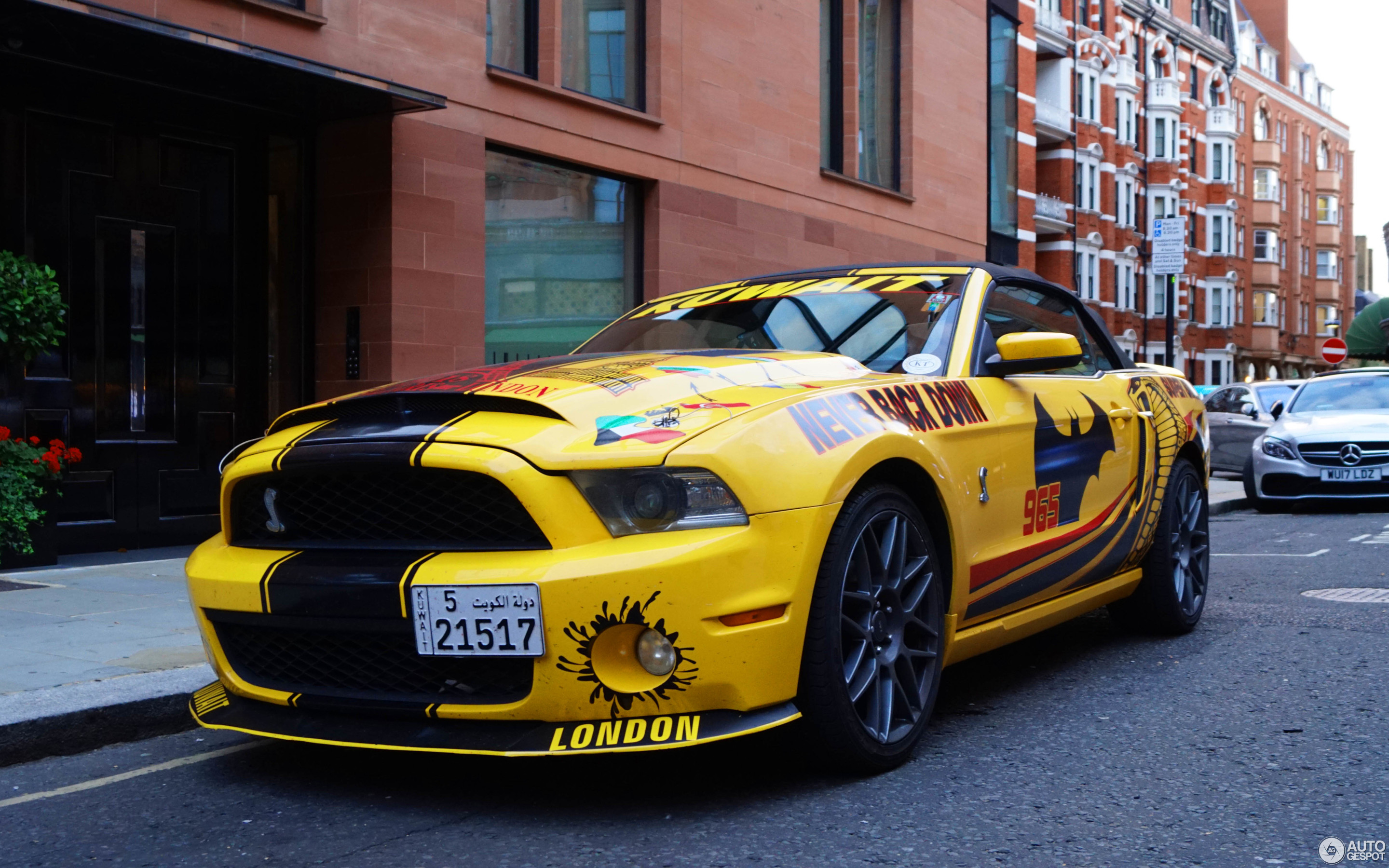 Ford Mustang Shelby GT500 Super Snake Convertible 2014 ...