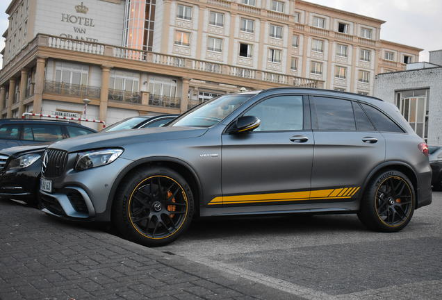 Mercedes-AMG GLC 63 S X253 2018 Yellow Night Edition