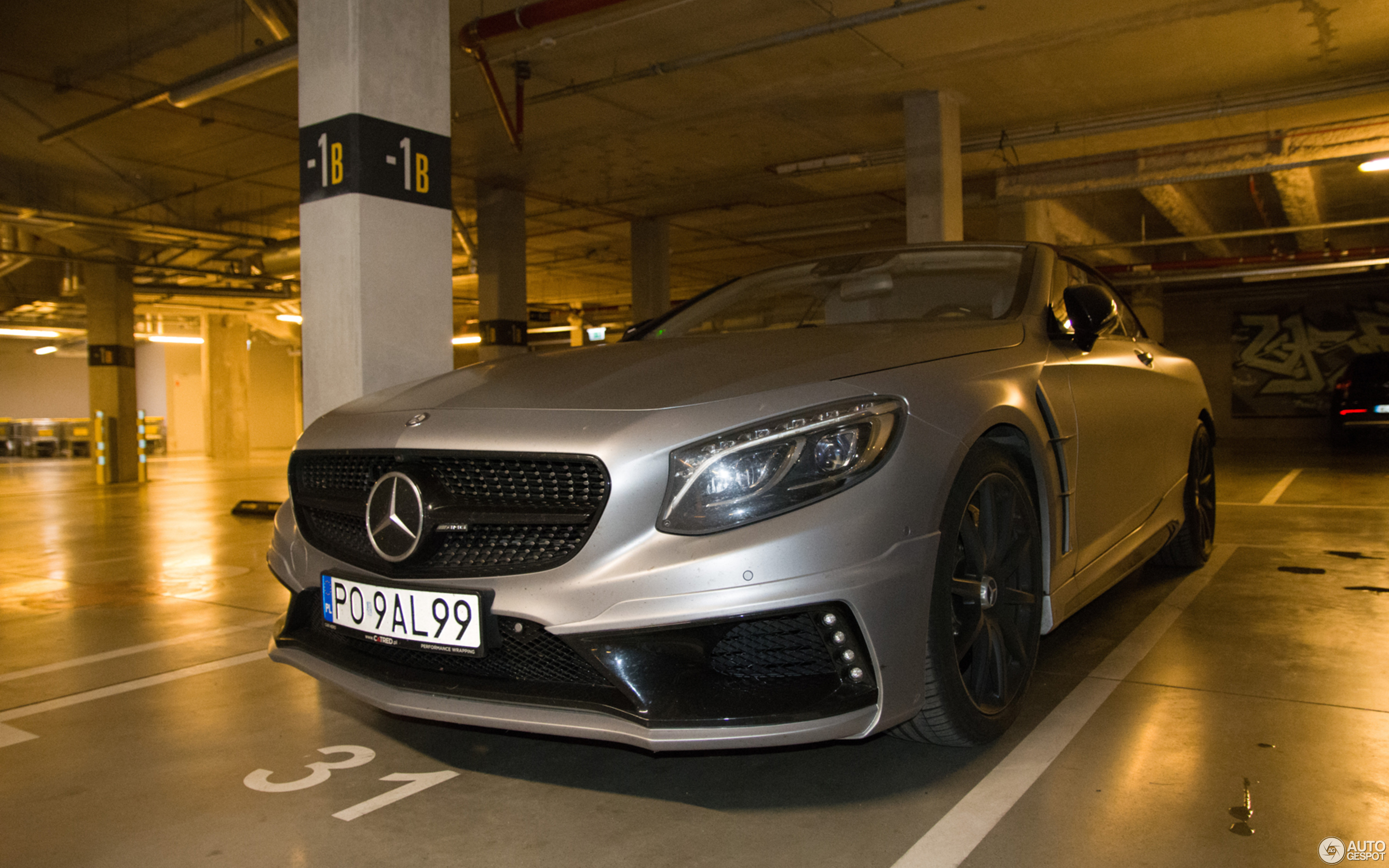 Mercedes-AMG S 63 Convertible A217 Wald Black Bison Edition