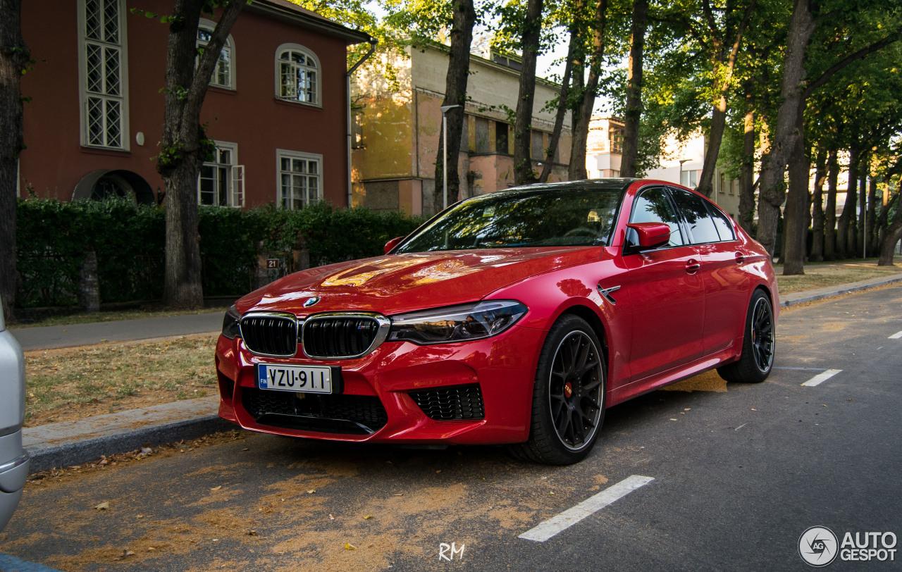 BMW M5 F90 - 19 July 2018 - Autogespot