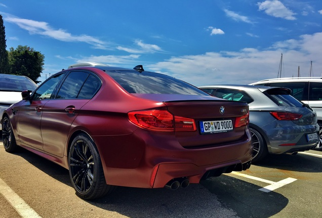 BMWM5 F90 First Edition 2018
