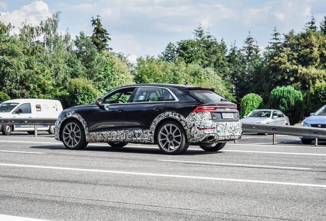 Audi RS Q8 Mule