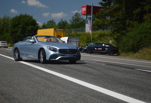Mercedes-AMG S 65 Convertible A217 2018