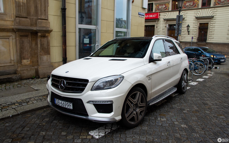 Mercedes Benz ML 63 AMG W166 30 Juli 2018 Autogespot