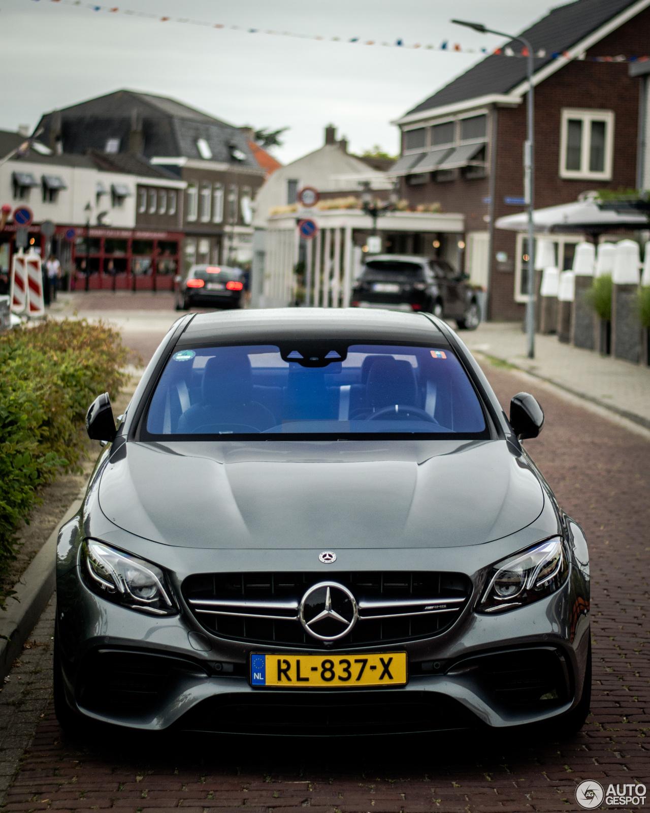 2018 Mercedes Amg E 63 S 4matic Sedan White Road: Mercedes-AMG E 63 S W213