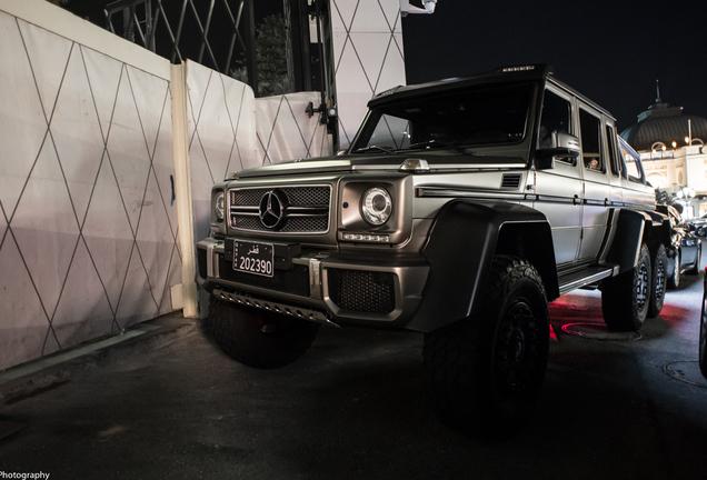 Mercedes-Benz G 63 AMG 6x6