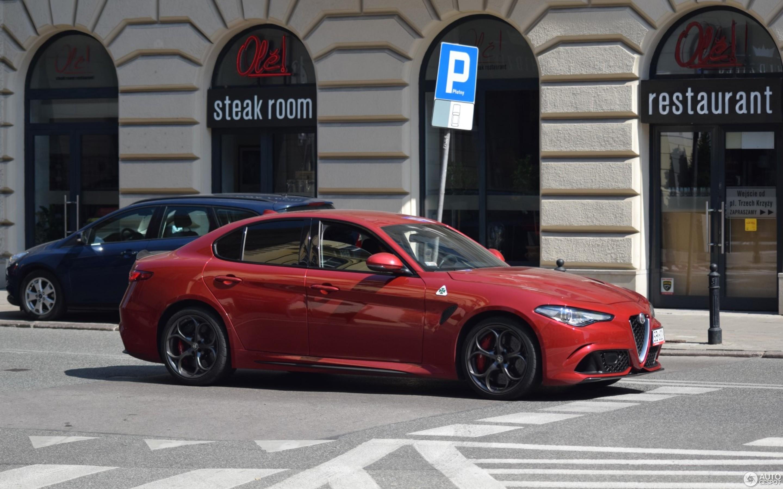 Alfa Romeo Giulia Quadrifoglio 3 August 2018 Autogespot