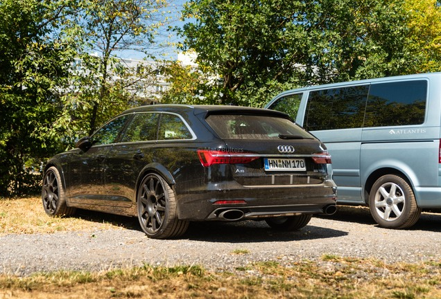 Audi RS6 Avant C8 Mule