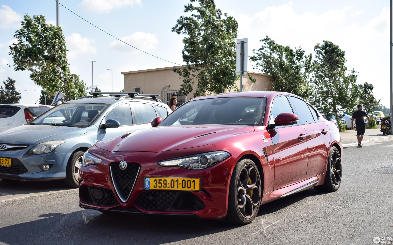 Alfa Romeo Giulia Quadrifoglio 11 август 2018 Autogespot