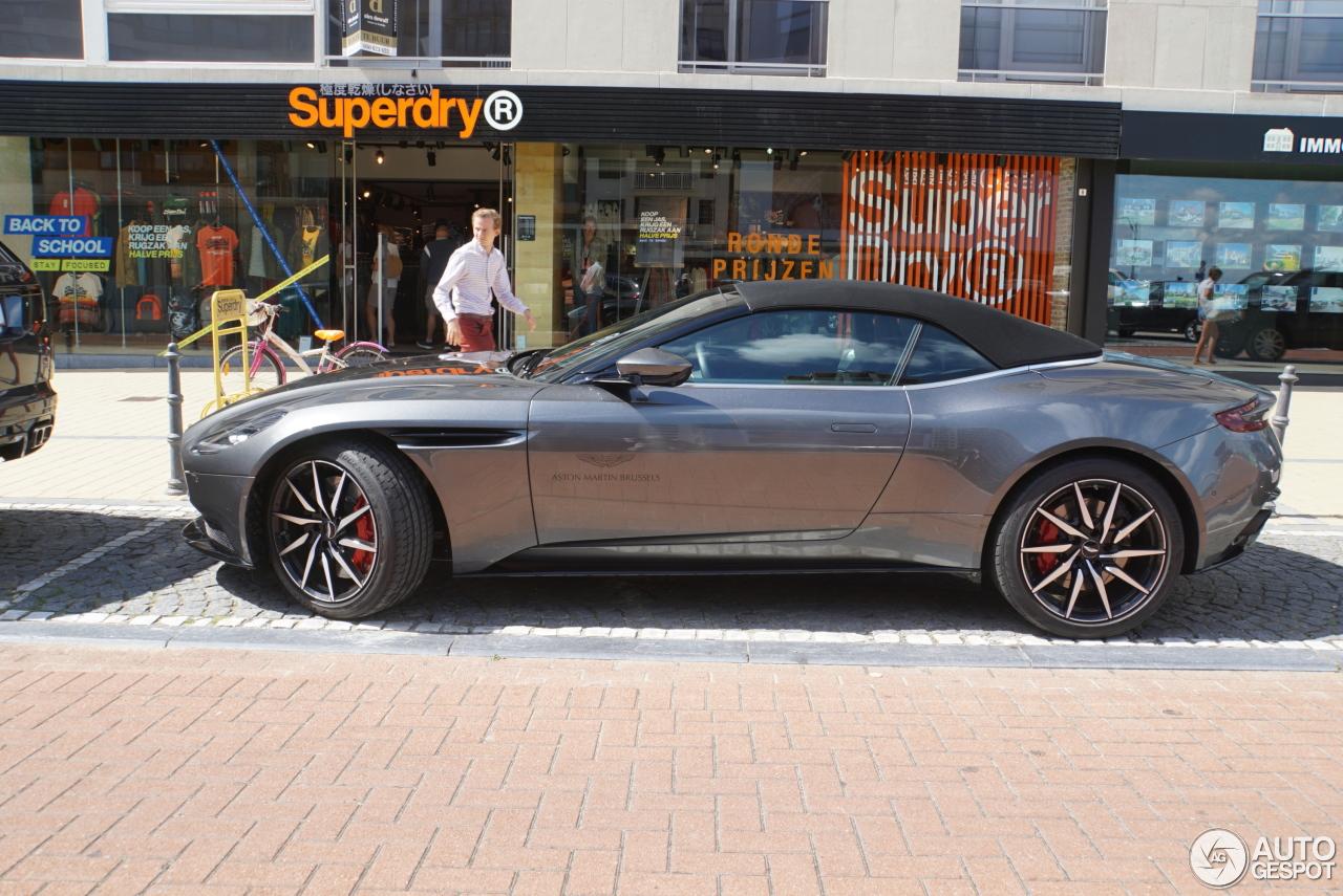 Aston Martin Db11 Volante V8 12 August 2018 Autogespot