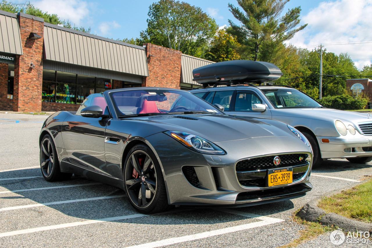 Jaguar F-TYPE S Convertible - 12 August 2018 - Autogespot