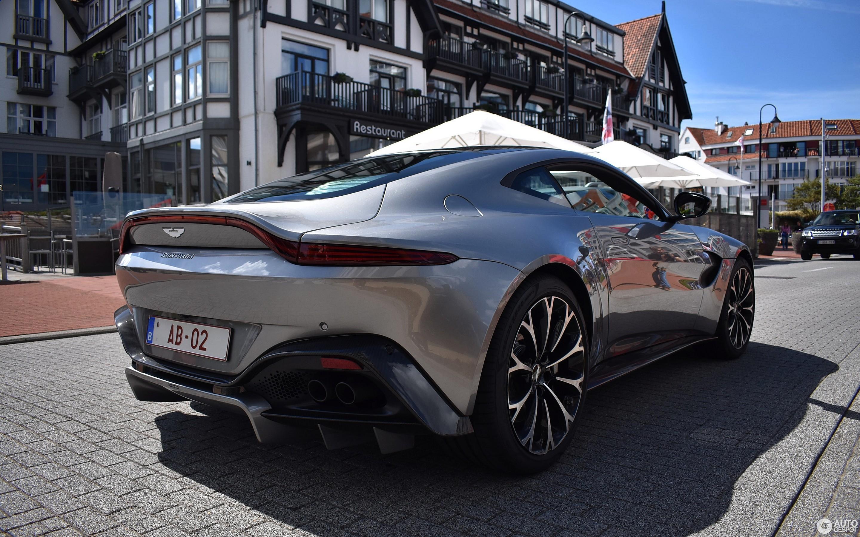 Aston Martin V8 Vantage 2018 12 August 2018 Autogespot