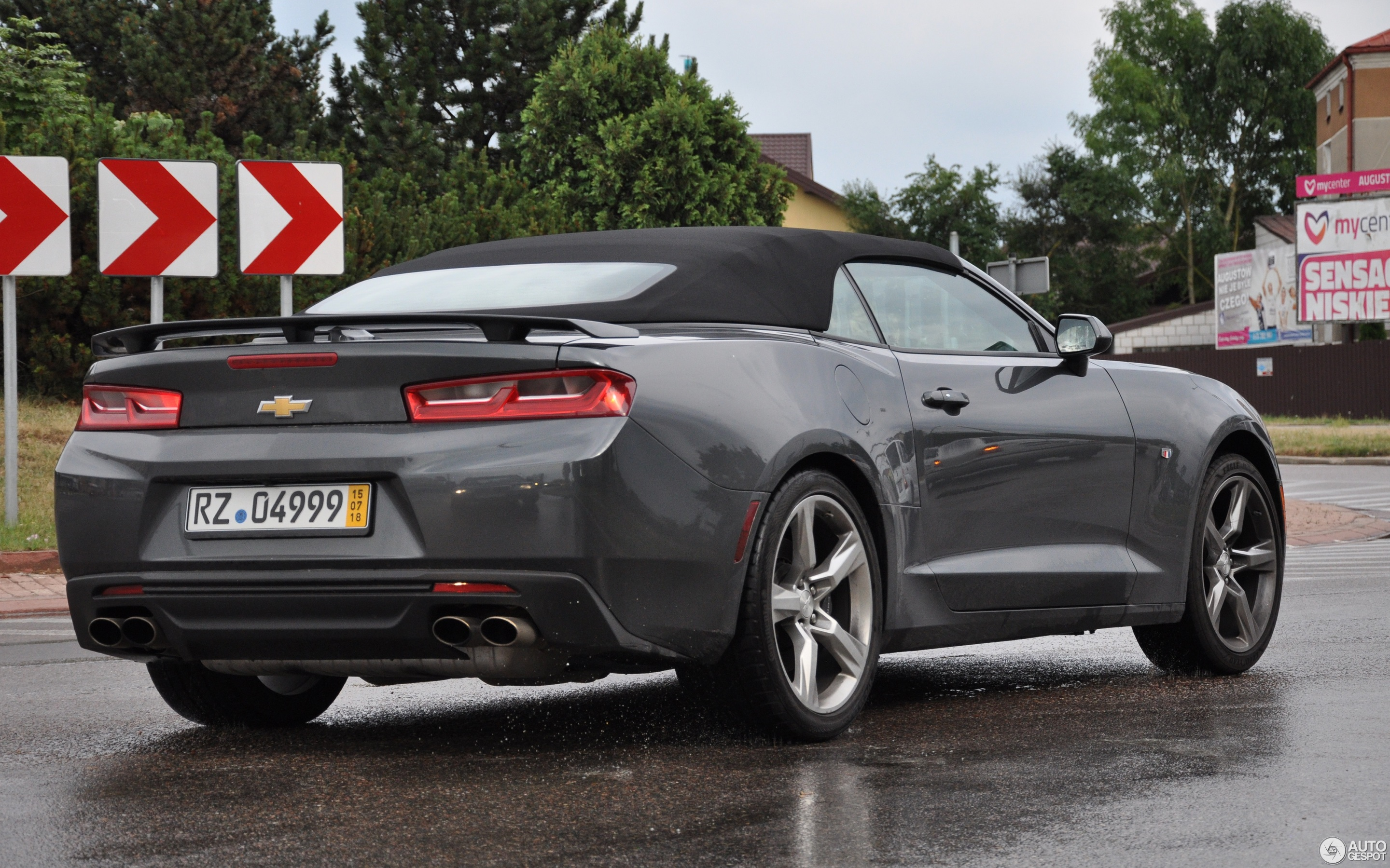 Chevrolet Camaro SS Convertible 2016 12 August 2018 Autogespot